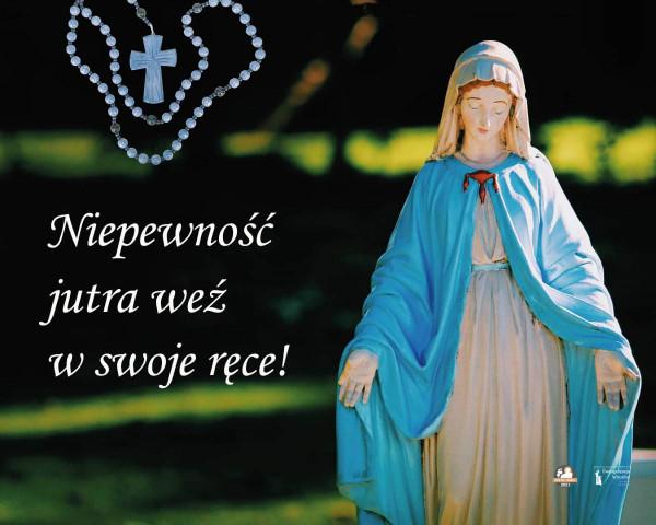 RÓŻANIEC  TO  PEWNOŚĆ  WSTAWIENNICTWA  MARYI