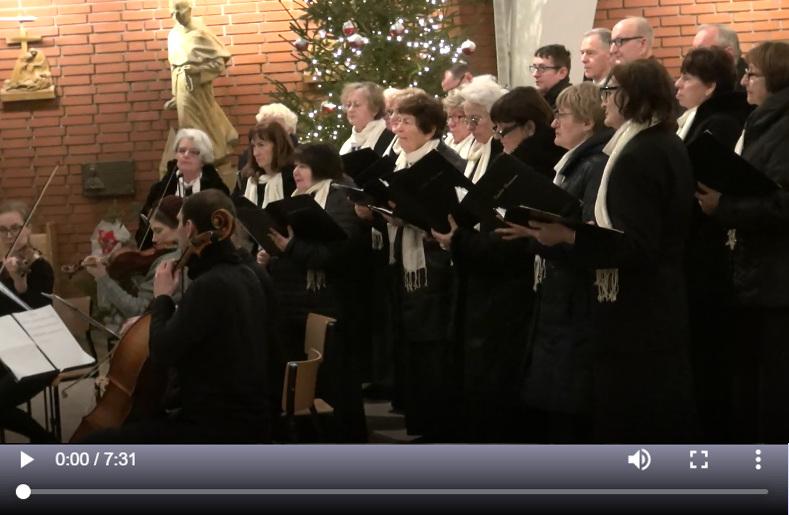 Film: Koncert kolęd chóru Laudete Dominum z kwartetem smyczkowym - 26.01.2020